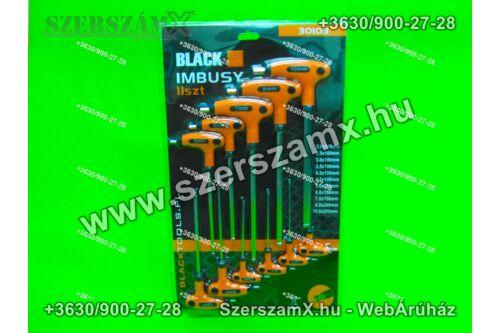 Black BL30103 T-nyelű Imbulsz Kulcs készlet 11db