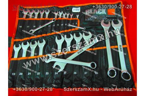 Black BL25832 Csillag Villás kulcs készlet 25részes