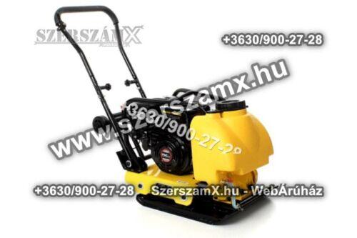 KraftDele KD1181 Benzines 6,5LE Lapvibrátor 14kN Döngölőgép