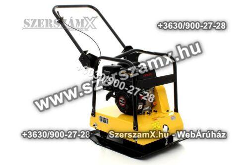 KraftDele KD1185 Benzines 5,5LE Lapvibrátor 18kN Döngölőgép