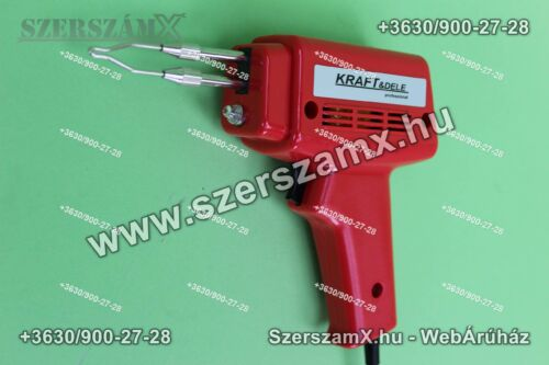 Kraftdele KD1503 Forrasztópisztoly 100W LED-es