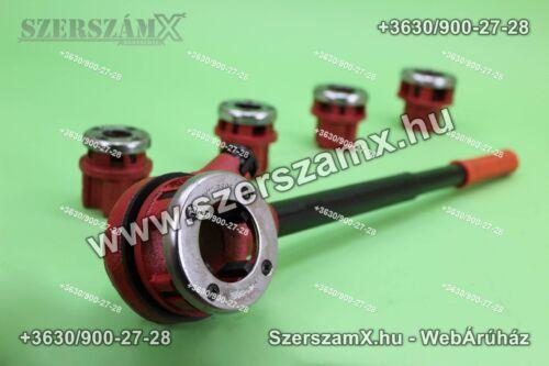KraftDele KD331 5-Részes Cső menetmetsző készlet