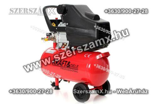KraftDele KD400 Kompresszor 24Liter 1500W