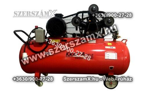 KraftDele KD411 3-Hengeres Kompresszor 300Liter 6000W