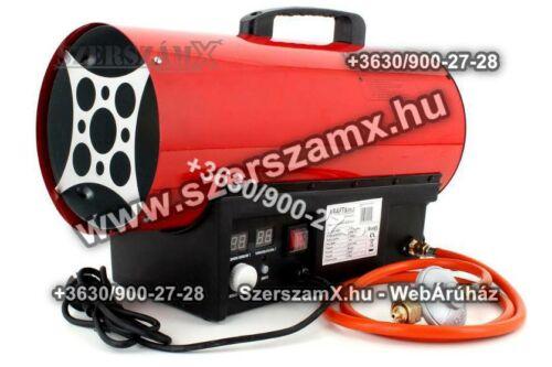 KraftDele KD703 PB-gázos Hölégfúvó 50kW Termosztátos