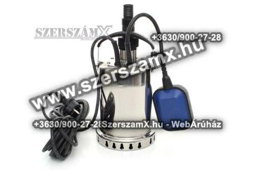 KraftDele KD730 Szennyvíz Szivattyú 1600W Inox - Szerszám Szerszam Szerszámok Szerszamok Barkacs Barkács Fűkasza Láncfűrész Bozótvágó Kertészet Gép Hegesztő Hegesztéstechnika