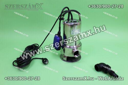 KraftDele KD732 Szennyvíz Szivattyú 1650W Inox - Szerszám Szerszam Szerszámok Szerszamok Barkacs Barkács Fűkasza Láncfűrész Bozótvágó Kertészet Gép Hegesztő Hegesztéstechnika