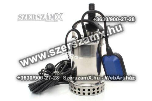KraftDele KD734 inox 1600W Szennyvíz Szivattyú Rózsdamentes