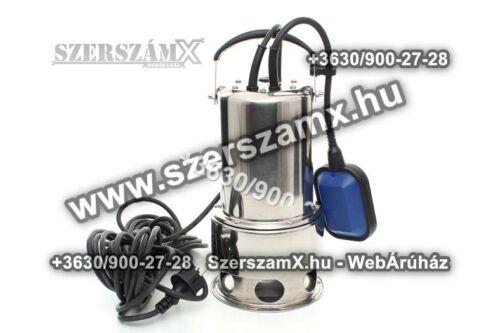 KraftDele KD736 Szennyvíz Szivattyú 1650W Inox