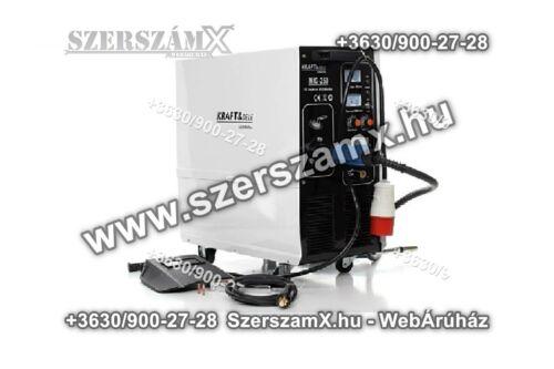 KraftDele KD842 Inverteres CO2 Hegesztőgép 250Amper -380V-