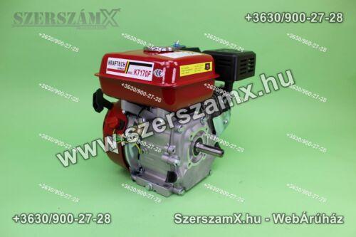 KrafTech KT170F 6,5Lóerő Benzines Motor 192ccm 4ütemű +ékszíjtárcsa