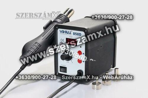 Yihua Digitális SMD Forrólevegős Forrasztóállómás 650W YH858d