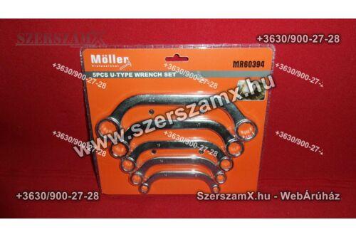 Möller MR60394 5db-os U alakú Csillag kulcs készlet