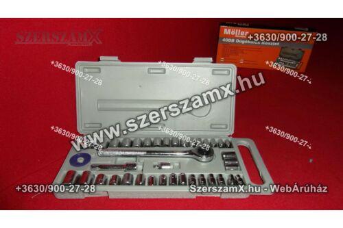 Möller MR60600 Krova Dúgokulcs készlet 40részes