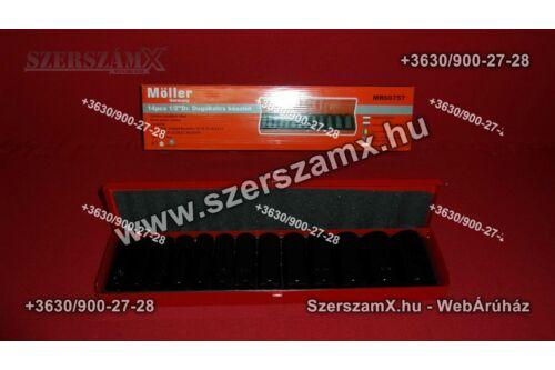 Möller  MR60757 Erősített Krova Dugókulcs készlet 12részes