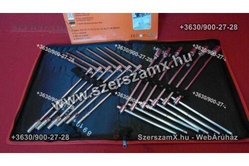 Möller MR60829 T kulcs készlet 12db-os táskás 8-19mm-ig - Szerszám Szerszam Szerszámok Szerszamok Barkacs Barkács Fűkasza Láncfűrész Bozótvágó Kertészet Gép Hegesztő Hegesztéstechnika