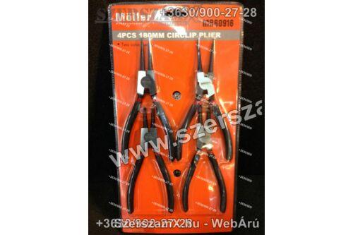 Möller MR60916 Zégerfogó készlet 4db-os - 180mm - Szerszám Szerszam Szerszámok Szerszamok Barkacs Barkács Fűkasza Láncfűrész Bozótvágó Kertészet Gép Hegesztő Hegesztéstechnika