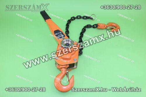 Mölle MR70508 Karos Láncos Csörlő 3-Tonnás - Szerszám Szerszam Szerszámok Szerszamok Barkacs Barkács Fűkasza Láncfűrész Bozótvágó Kertészet Gép Hegesztő Hegesztéstechnika