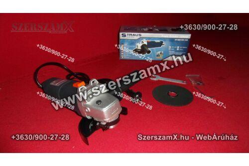 Straus ST/AG 125-133 Sarokcsiszoló 125mm 900W Szabályzós