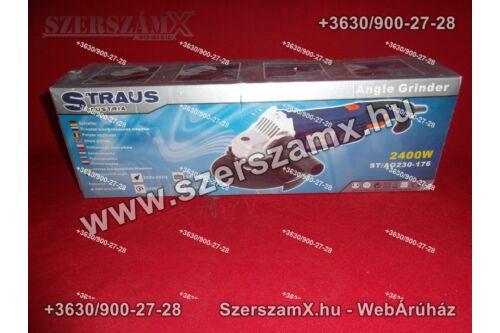 Straus ST/AG230-176 Sarokcsiszoló 230mm 2400W