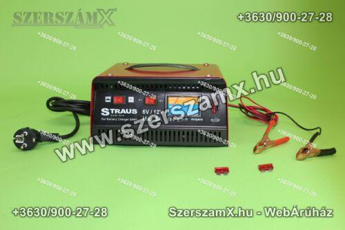 Straus ST/CB-19M Tölő 8Amper 6V / 12V
