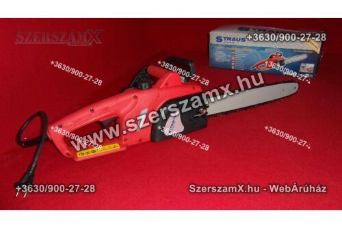 Straus ST-CHS2000-844 Elektromos Láncfűrész 2000W - Szerszám Szerszam Szerszámok Szerszamok Barkacs Barkács Fűkasza Láncfűrész Bozótvágó Kertészet Gép Hegesztő Hegesztéstechnika