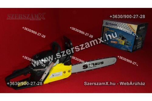Straus ST/CHS2000G-009A 2,4Lóerő Láncfűrész 45cc - Szerszám Szerszam Szerszámok Szerszamok Barkacs Barkács Fűkasza Láncfűrész Bozótvágó Kertészet Gép Hegesztő Hegesztéstechnika
