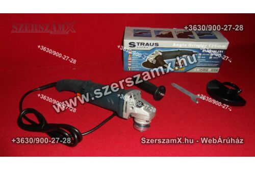 Straus ST/AG125-151 Sarokcsiszoló 125mm 600W