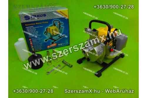 Straus St/GPUMP-026 Benzines 3,0Lóerős Szivattyú 130L/perc - Szerszám Szerszam Szerszámok Szerszamok Barkacs Barkács Fűkasza Láncfűrész Bozótvágó Kertészet Gép Hegesztő Hegesztéstechnika