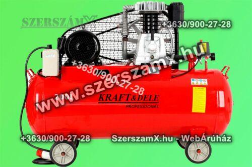 KraftDele KD1475 Légkompresszor 200L Speciális