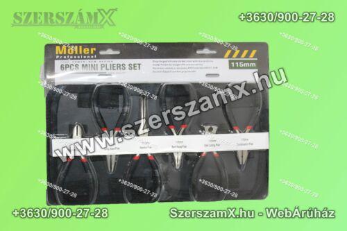 Möller MR60222R Mini Fogó készlet 6-részes