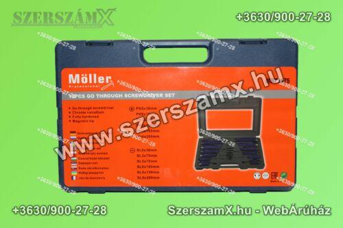 Möller MR70475 Csavarhúzó készlet 12-Részes