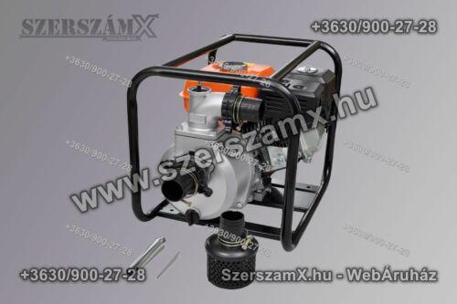 Haina HM6275 Benzines Szivattyú 550Liter/perc 5,5Lóerő