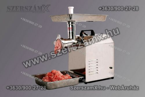 "Inox HM6314 Ipari Húsdaráló 3000W 250kg/h 12"""