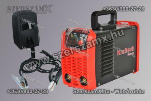KrafTech KT/IGBT-300A - Szerszám Szerszam Szerszámok Szerszamok Barkacs Barkács Fűkasza Láncfűrész Bozótvágó Kertészet Gép Hegesztő Hegesztéstechnika