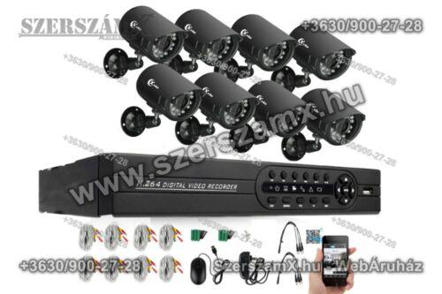 Éjjellátó kamera rendszer