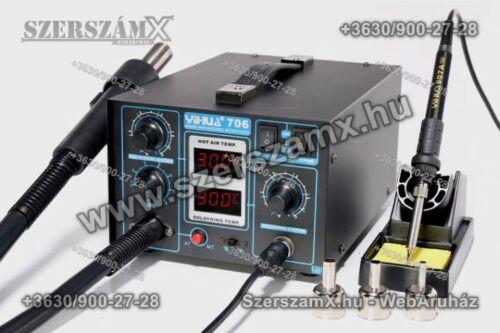 Yihua YH706 SMD Forrasztóállomás 2-funkciós 720W