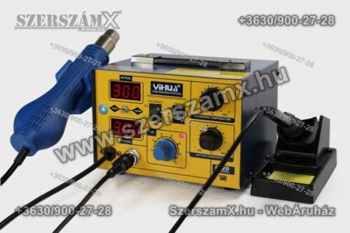 Yihua YH862d SMD Forrasztóállomás 2-funkciós 700W
