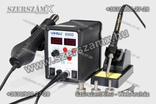 Yihua YH898D SMD Forrasztóállomás 2-funkciós 700W