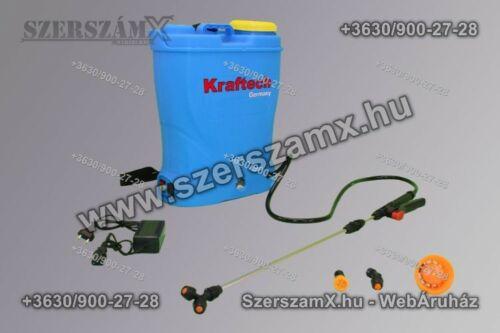 KrafTech KT/SPRA-16BT Akkumulátoros Permetező 16Liter