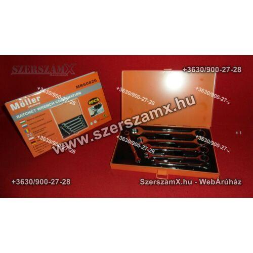 Möller - MR60826 Racsnis Csillag Villás kulcs készlet 6részes - Szerszám Szerszam Szerszámok Szerszamok Barkacs Barkács Fűkasza Láncfűrész Bozótvágó Kertészet Gép Hegesztő Hegesztéstechnika