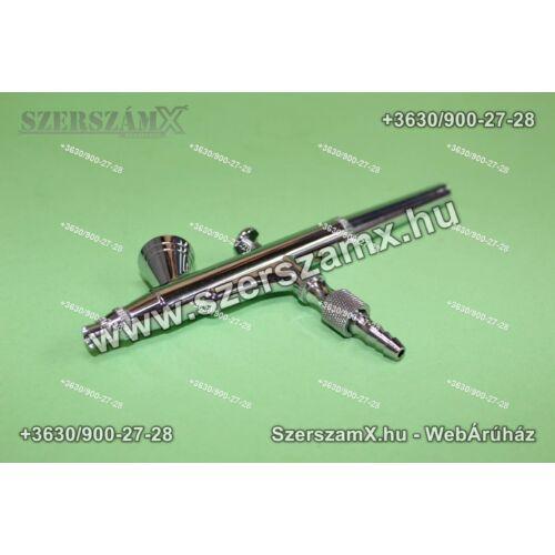 Straus ST/AT-13BSA AirBrush Festékszóró 0,3mm - Szerszám Szerszam Szerszámok Szerszamok Barkacs Barkács Fűkasza Láncfűrész Bozótvágó Kertészet Gép Hegesztő Hegesztéstechnika