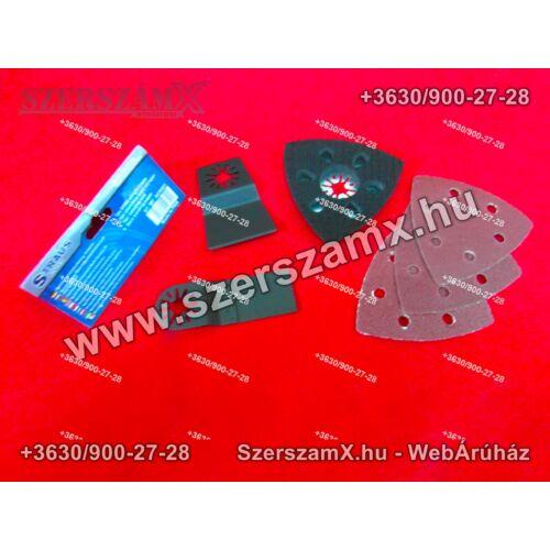 Straus ST/MF-AC0401 Kiegészítő szett multi szerszámhoz - Szerszám Szerszam Szerszámok Szerszamok Barkacs Barkács Fűkasza Láncfűrész Bozótvágó Kertészet Gép Hegesztő Hegesztéstechnika