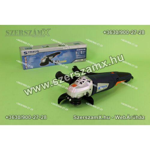 Straus ST/AG125-162 Sarokcsiszoló 125mm 1200W Szabályzós - Szerszám Szerszam Szerszámok Szerszamok Barkacs Barkács Fűkasza Láncfűrész Bozótvágó Kertészet Gép Hegesztő Hegesztéstechnika