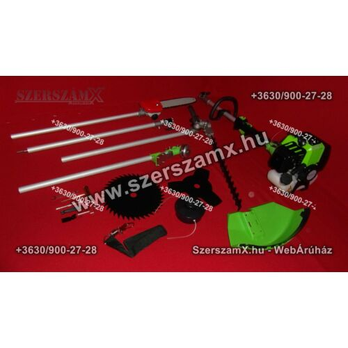 Straus GT2500G-045 Fűkasza Sövényvágó Ágvágó Bozótvágó - Szerszám Szerszam Szerszámok Szerszamok Barkacs Barkács Fűkasza Láncfűrész Bozótvágó Kertészet Gép Hegesztő Hegesztéstechnika