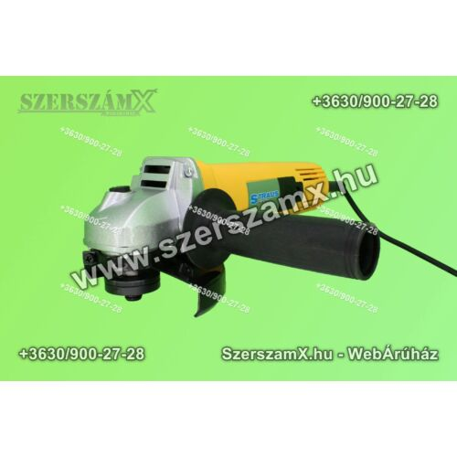 Straus ST/AG125-155 Sarokcsiszoló 125mm 1050W - Szerszám Szerszam Szerszámok Szerszamok Barkacs Barkács Fűkasza Láncfűrész Bozótvágó Kertészet Gép Hegesztő Hegesztéstechnika