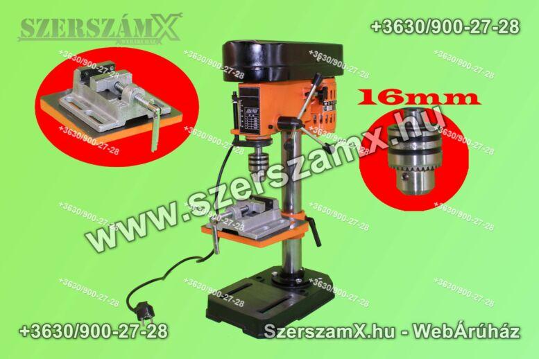 Haina M83.16 Oszlopos Fúrógép 1550W 16mm + Satu