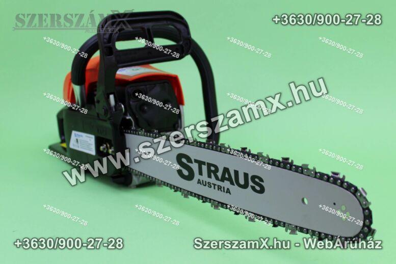 Straus ST/CHS2800G-010A 3,8Lóerős Láncfűrész 52cc