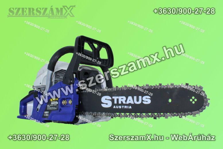 Straus ST/CHS42G-454 Benzines Láncfűrész 4,2Lóerő