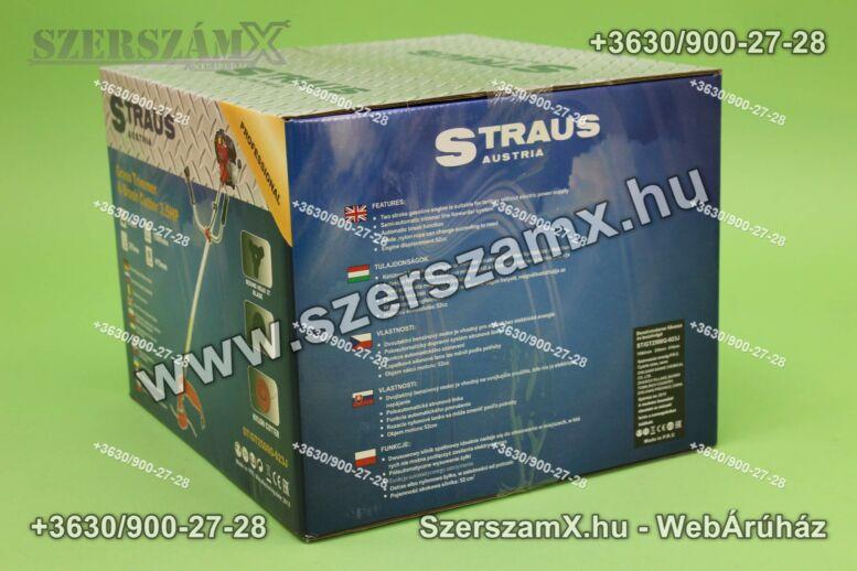 Straus GT2500-023J Benzinmotoros Fűkasza 3, 5LE 52ccm